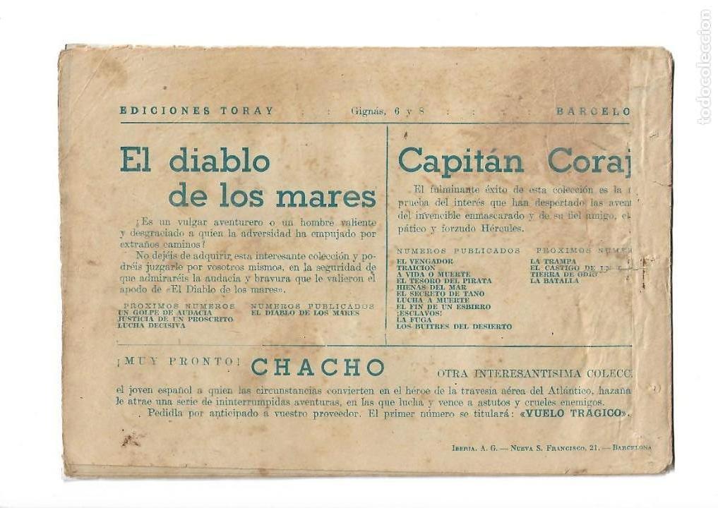 Tebeos: El Diablo de los Mares, Año 1.947 Colección Completa son 68 Tebeos + Almanaque 1948 de Ferrando. - Foto 9 - 139805446