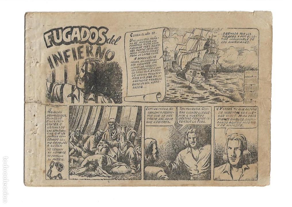 Tebeos: El Diablo de los Mares, Año 1.947 Colección Completa son 68 Tebeos + Almanaque 1948 de Ferrando. - Foto 10 - 139805446