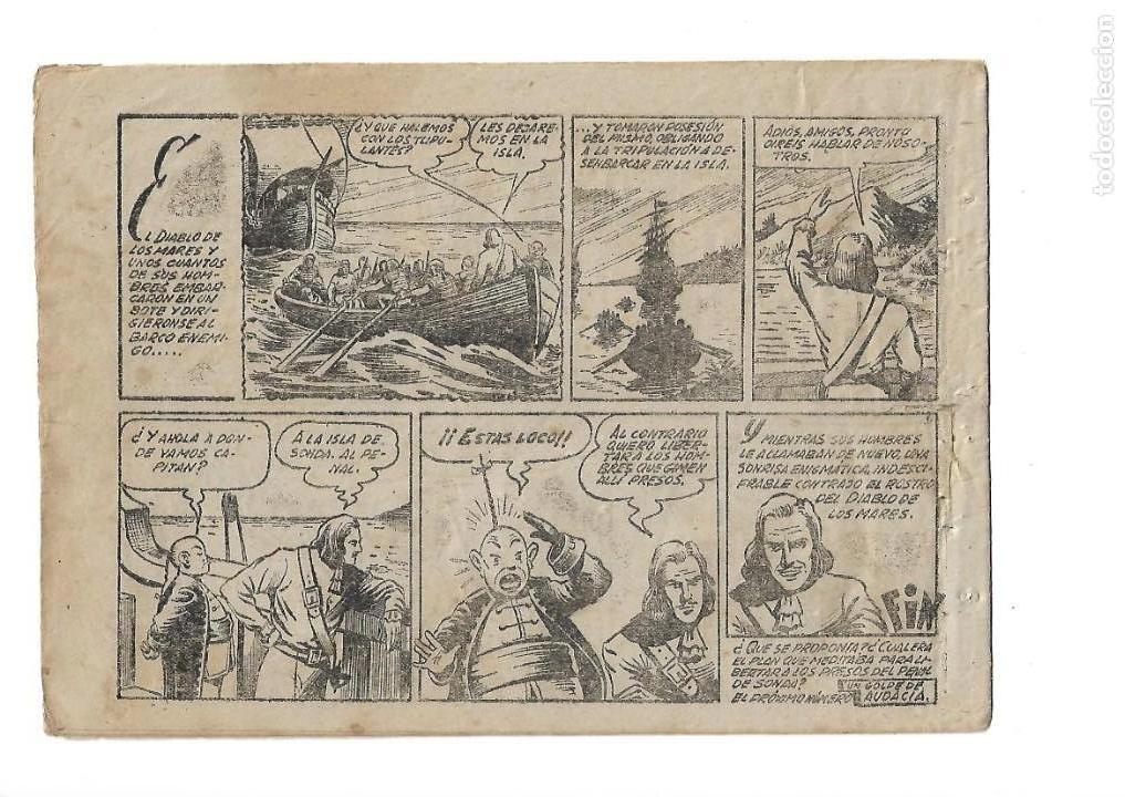 Tebeos: El Diablo de los Mares, Año 1.947 Colección Completa son 68 Tebeos + Almanaque 1948 de Ferrando. - Foto 11 - 139805446