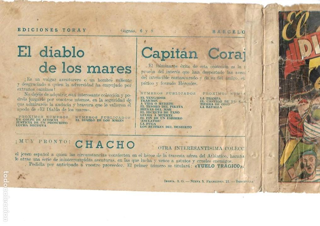 Tebeos: El Diablo de los Mares, Año 1.947 Colección Completa son 68 Tebeos + Almanaque 1948 de Ferrando. - Foto 12 - 139805446