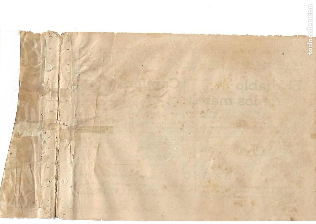 Tebeos: El Diablo de los Mares, Año 1.947 Colección Completa son 68 Tebeos + Almanaque 1948 de Ferrando. - Foto 13 - 139805446