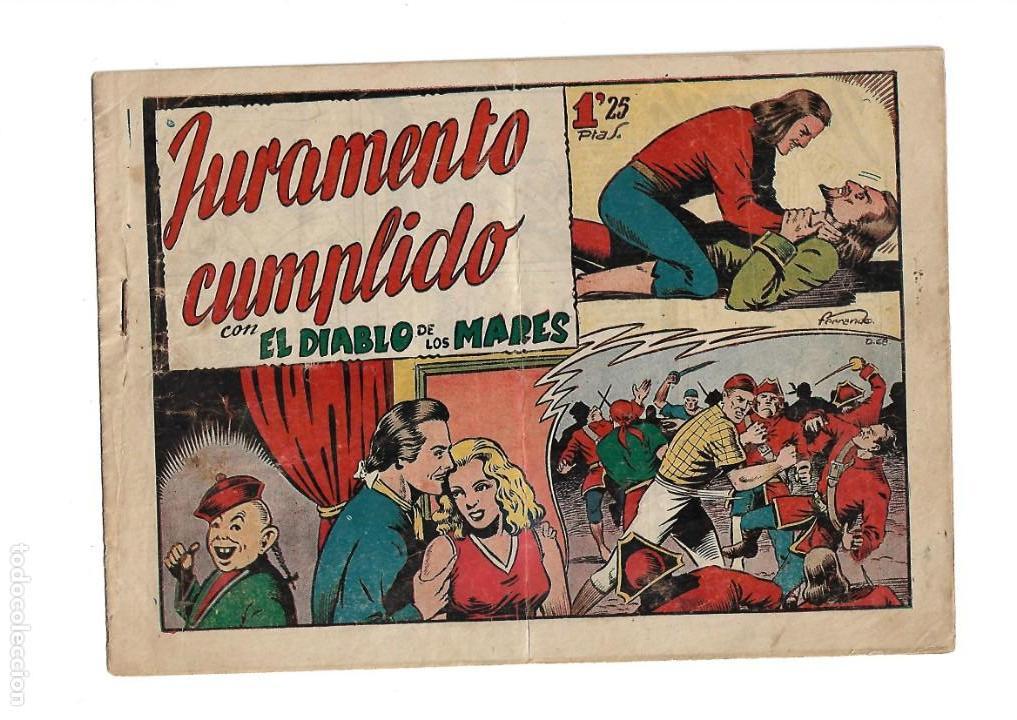 Tebeos: El Diablo de los Mares, Año 1.947 Colección Completa son 68 Tebeos + Almanaque 1948 de Ferrando. - Foto 14 - 139805446