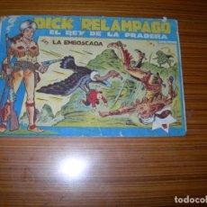 Tebeos: DICK RELAMPAGO Nº 9 EDITA TORAY . Lote 140073478