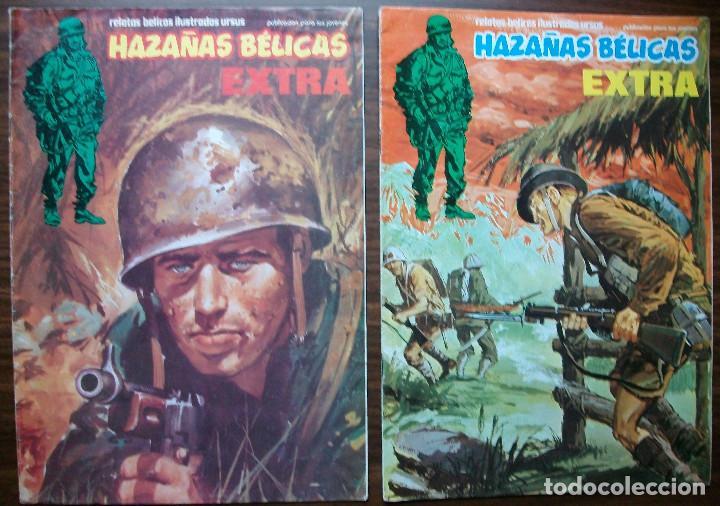 HAZAÑAS BELICAS EXTRA. Nº 35 Y Nº 39, AÑO 1979 (Tebeos y Comics - Toray - Hazañas Bélicas)