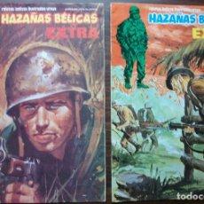 Tebeos: HAZAÑAS BELICAS EXTRA. Nº 35 Y Nº 39, AÑO 1979. Lote 140182510