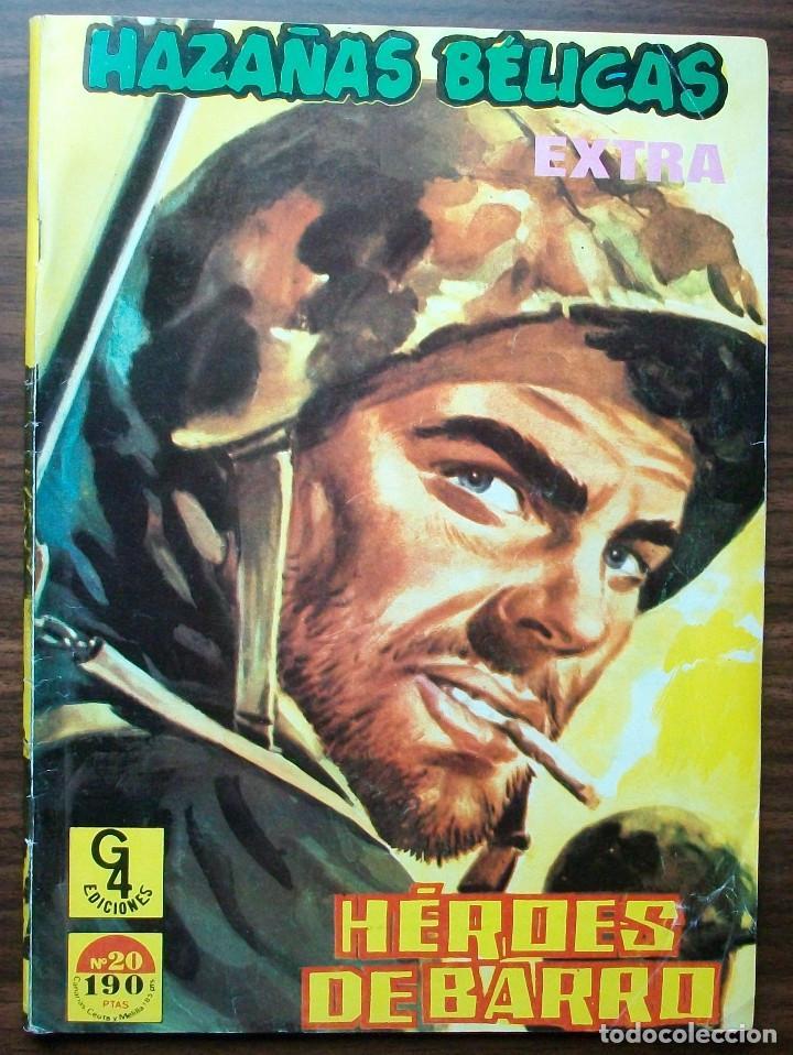 HAZAÑAS BELICAS EXTRA. HEROES DE BARRO. Nº 20 (Tebeos y Comics - Toray - Hazañas Bélicas)