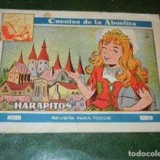 Tebeos: CUENTOS DE LA ABUELITA 263 - HARAPITOS - ED.TORAY. Lote 140620442