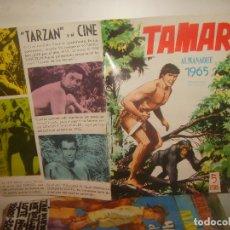Tebeos: TAMAR ALMANAQUE 1965. TORAY.. Lote 140737854