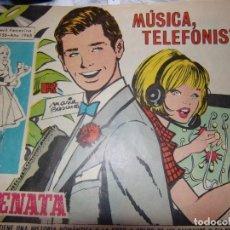 Tebeos - SERENATA -REVISTA JUVENIL FEMENINA- NÚM 301 Año 1965 -MÚSICA TELEFONISTA - 142212562