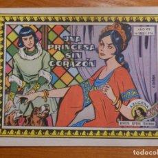 Tebeos: TEBEO-COMIC P/ NIÑAS - REVISTA JUVENIL FEMENINA AZUCENA - UNA PRINCESA SIN CORAZON - Nº 803. Lote 142628854
