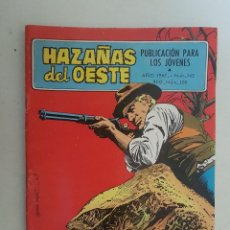 Tebeos: HAZAÑAS DEL OESTE. Nº 145. TORAY. EST.. Lote 143192742