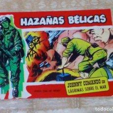 Tebeos: VENDO COMIC HAZAÑAS BELICAS (LÁGRIMAS SOBRE EL MAR), Nº: 291. (VER 2ª FOTO EN EL INTERIOR).. Lote 143230142