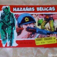 Tebeos: VENDO COMIC HAZAÑAS BELICAS (ALI - BEN - GORILA), Nº: 295. (VER 2ª FOTO EN EL INTERIOR).. Lote 143230222