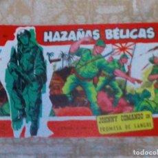 Tebeos: VENDO COMIC HAZAÑAS BELICAS (PROMESA DE SANGRE), Nº: 301. (VER 2ª FOTO EN EL INTERIOR).. Lote 143275314