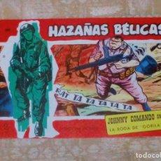Giornalini: VENDO COMIC HAZAÑAS BELICAS (LA BODA DE GORILA), Nº: 309. (VER 2ª FOTO EN EL INTERIOR).. Lote 143276766
