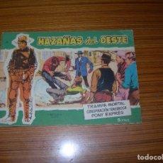 Tebeos: HAZAÑAS DEL OESTE Nº 10 EDITA TORAY . Lote 143415142