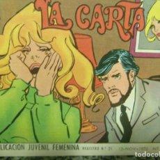 Tebeos: AZUCENA REVISTA JUVENIL FEMENINA AÑO 1970 NÚM. 1182 LA CARTA. Lote 143547126