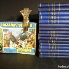 Tebeos: ORIGINAL - LOTE 85 NÚMEROS HAZAÑAS BÉLICAS EN 17 TOMOS CORRELATIVOS - TORAY. Lote 143600866