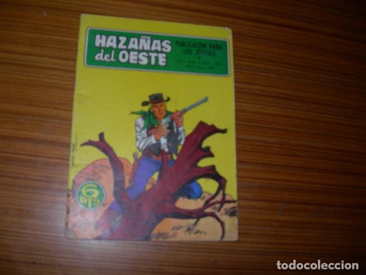 HAZAÑAS DEL OESTE Nº 196 EDITA TORAY (Tebeos y Comics - Toray - Hazañas del Oeste)