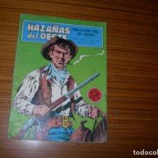 Tebeos: HAZAÑAS DEL OESTE Nº 173 EDITA TORAY . Lote 144319714
