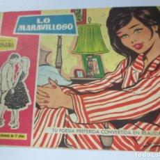 Tebeos: LO MARAVILLOSO Nº 105 EDIT TORAY AÑO 1959. Lote 144365286