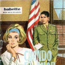 Livros de Banda Desenhada: CUANDO EL AMOR ACUSA. BABETTE. EDICIONES TORAY. . Lote 144703474