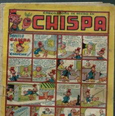 Tebeos: CHISPA Nº 10 - TORAY 1947 - ORIGINAL - CON IRANZO, AYNE, COLL, ETC. . - MUY RARO DE VER Y DIFICIL. Lote 144730638