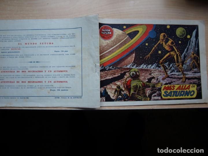 EL MUNDO FUTURO - NÚMERO 6 - ORIGINAL - TORAY (Tebeos y Comics - Toray - Mundo Futuro)