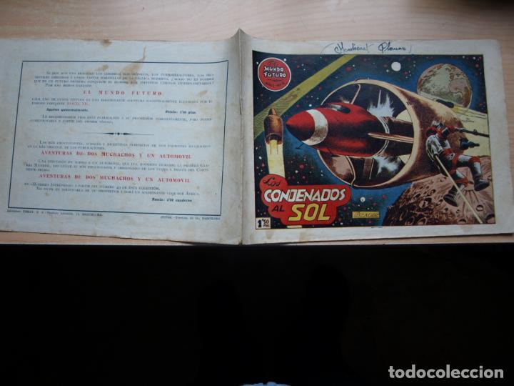EL MUNDO FUTURO - NÚMERO 2 - ORIGINAL - TORAY (Tebeos y Comics - Toray - Mundo Futuro)