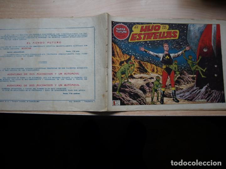 EL MUNDO FUTURO - NÚMERO 9 - ORIGINAL - TORAY (Tebeos y Comics - Toray - Mundo Futuro)