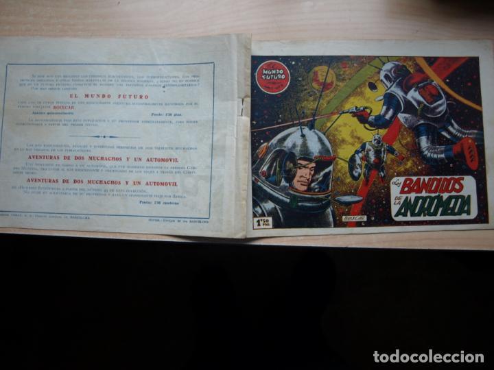EL MUNDO FUTURO - NÚMERO 4 - ORIGINAL - TORAY (Tebeos y Comics - Toray - Mundo Futuro)