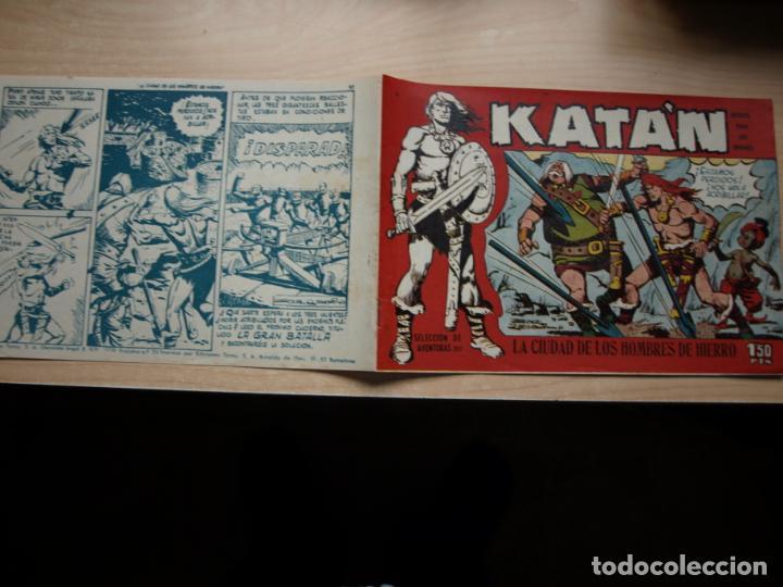 KATAN - NÚMERO 4 - ORIGINAL - TORAY (Tebeos y Comics - Toray - Katan)