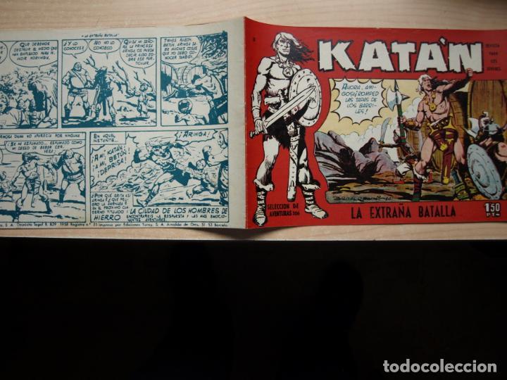 KATAN - NÚMERO 3 - ORIGINAL - TORAY (Tebeos y Comics - Toray - Katan)