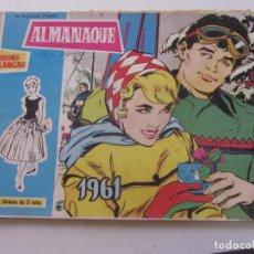Tebeos - ALMANAQUE ROSAS BLANCAS 1961 TORAY cx02 - 144752802