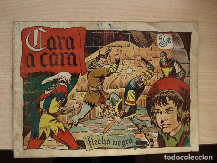 FLECHA NEGRA - CARA A CARA - PRECIO 3 PESETAS - TORAY (Tebeos y Comics - Toray - Flecha Negra)