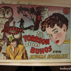 Tebeos: EL TORREON DE LOS BUHOS - CON ENIGMA ESCARLATA - ORIGINAL - TORAY. Lote 144790154