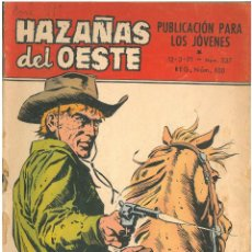 Tebeos: HAZAÑAS DEL OESTE Nº 237. TORAY. C-30B. Lote 144884354