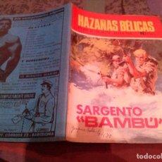 Giornalini: HAZAÑAS BELICAS Nº 221 - SARGENTO BAMBU . TORAY.. Lote 145476510