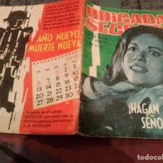 Tebeos: BRIGADA SECRETA Nº55 - HAGAN JUEGO SEÑORES - EDITORIAL TORAY. Lote 145476798