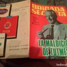Tebeos: BRIGADA SECRETA Nº124 LA MALDICION DE TUTMES. Lote 145478318