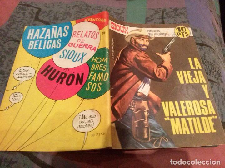 SIOUX Nº 116 LA VIEJA Y LA VALEROSA MATILDE - EDITORIAL TORAY 1968 (Tebeos y Comics - Toray - Sioux)
