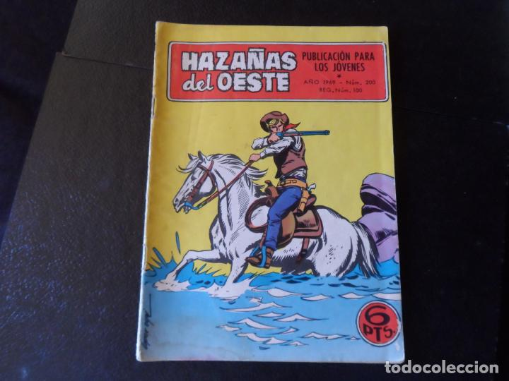 HAZAÑAS DEL OESTE N º 200 EDITORIAL TORAY (Tebeos y Comics - Toray - Hazañas del Oeste)