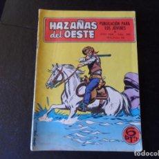 Tebeos: HAZAÑAS DEL OESTE N º 200 EDITORIAL TORAY . Lote 145573478