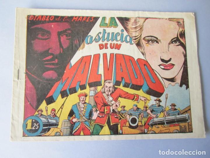 DIABLO DE LOS MARES, EL (1947, TORAY) 43 · 1947 · LA ASTUCIA DE UN MALVADO (Tebeos y Comics - Toray - Diablo de los Mares)