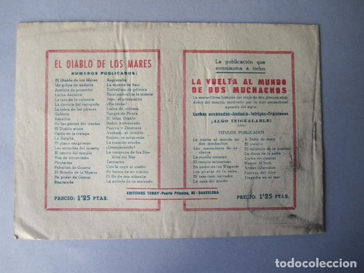 Tebeos: DIABLO DE LOS MARES, EL (1947, TORAY) 43 · 1947 · LA ASTUCIA DE UN MALVADO - Foto 2 - 145902130