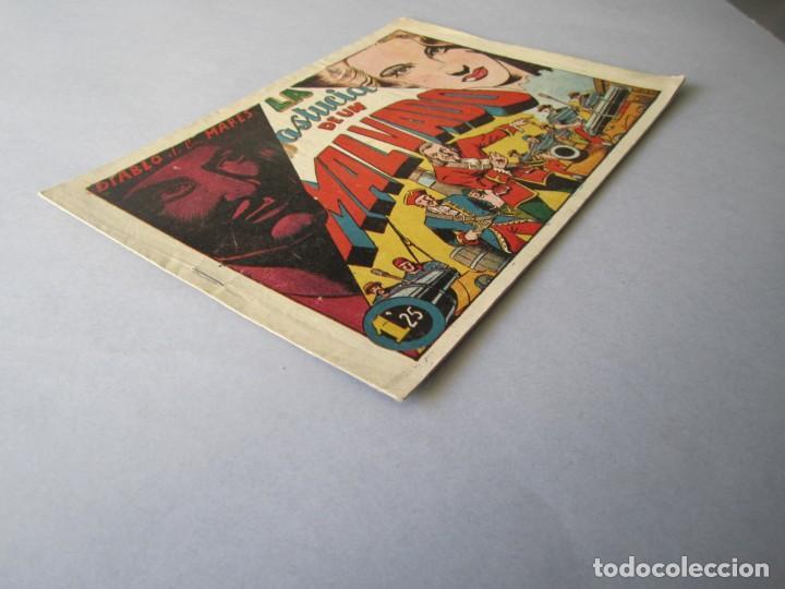 Tebeos: DIABLO DE LOS MARES, EL (1947, TORAY) 43 · 1947 · LA ASTUCIA DE UN MALVADO - Foto 3 - 145902130