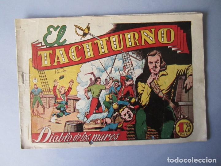 DIABLO DE LOS MARES, EL (1947, TORAY) 39 · 1947 · EL TACITURNO (Tebeos y Comics - Toray - Diablo de los Mares)