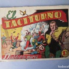 Tebeos: DIABLO DE LOS MARES, EL (1947, TORAY) 39 · 1947 · EL TACITURNO. Lote 145902362