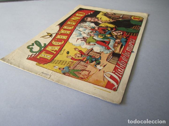 Tebeos: DIABLO DE LOS MARES, EL (1947, TORAY) 39 · 1947 · EL TACITURNO - Foto 3 - 145902362