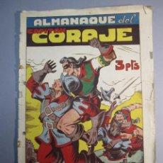 Tebeos: CAPITAN CORAJE, EL (1946, PARA NIÑOS / TORAY) EXTRA 2 · XII-1947 · ALMANAQUE 1948. Lote 145911722